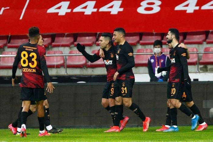 Galatasaray Kayserispor'u affetmedi