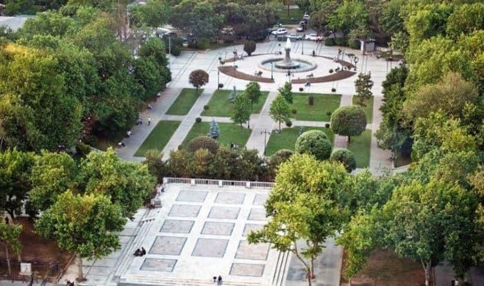 Gezi Parkı İstanbul Büyükşehir Belediyesi'nden  alındı