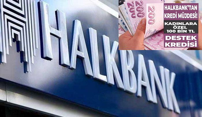Halkbank'tan kadın girişimcilere finansman desteği