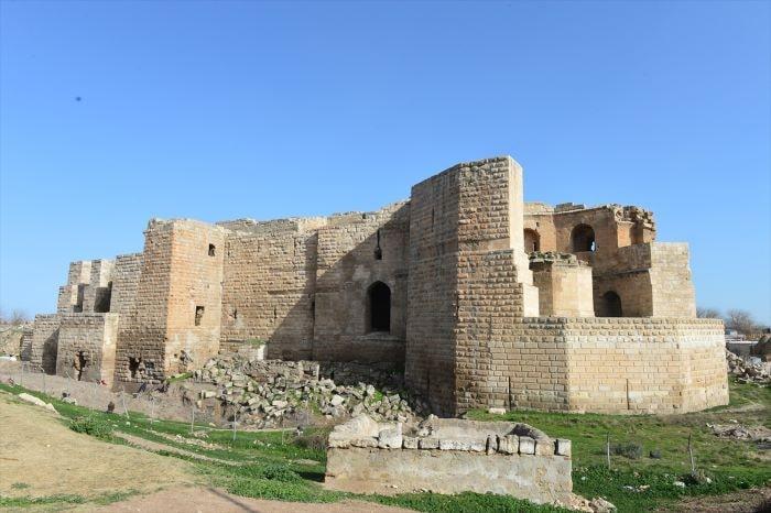 Harran Sarayı'nda tarih canlanıyor