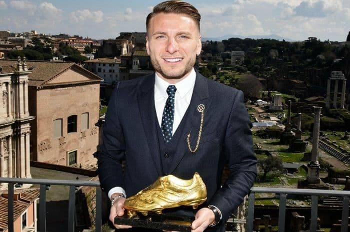2019-20 altın ayakkabı ödülü Lazio'lu Immobile'ın oldu
