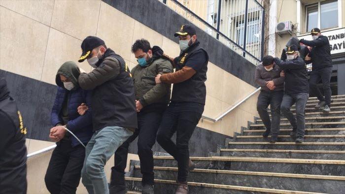 İstanbul'da oto hırsızlığı operasyonu