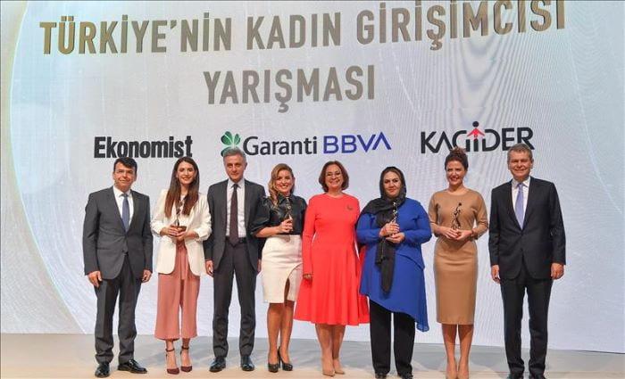 Kadın Girişimcisi Yarışması'nın kazananları belli oldu