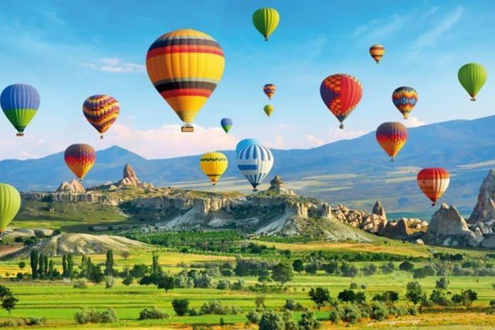 """Türkiye'nin en romantik yeri """"Kapadokya"""""""