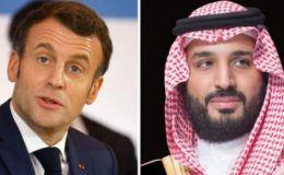 Macron'nun Suudi Arabistan ile flörtü