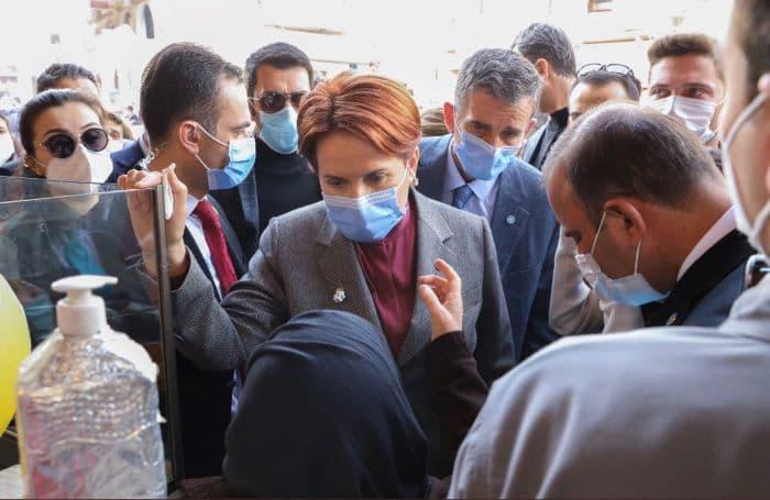 İYİ Parti Genel Başkanı Akşener Mardin'de