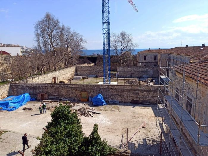 Sinop Cezaevi restorasyon çalışmaları devam ediyor
