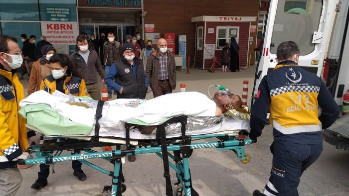 Bursa'da taş ocağındaki trafo patladı