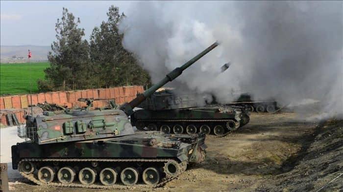 Tel Rıfat'taki PKK/YPG hedefleri vuruldu