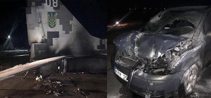 Ukrayna'da çok garip bir kaza