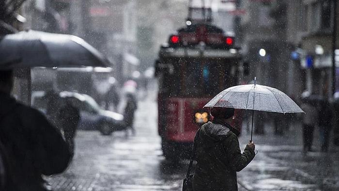 İstanbul ve Trakya için yağış uyarısı