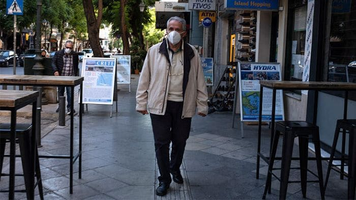 Yunanistan'da Kovid-19 vakaları artıyor
