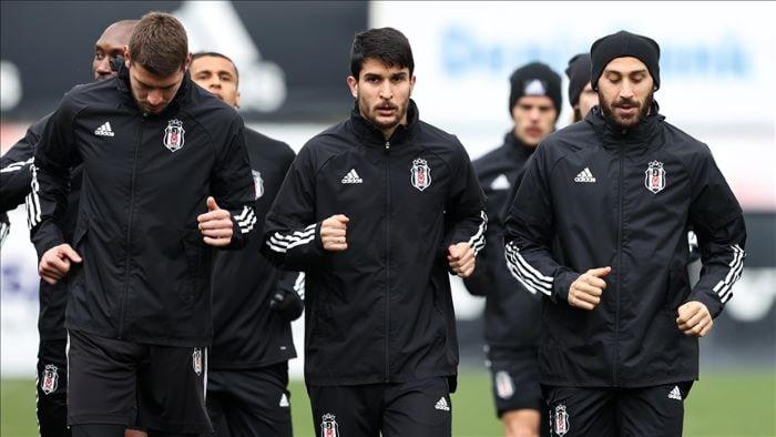 Beşiktaş'ta, Sivasspor maçı hazırlıkları başladı