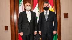 Cevat Zarif, Erbil'de IKBY Başbakanı Barzani ile görüştü