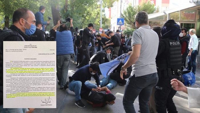 Eylemlerde polislere ait ses ve görüntü kaydı almak yasaklandı