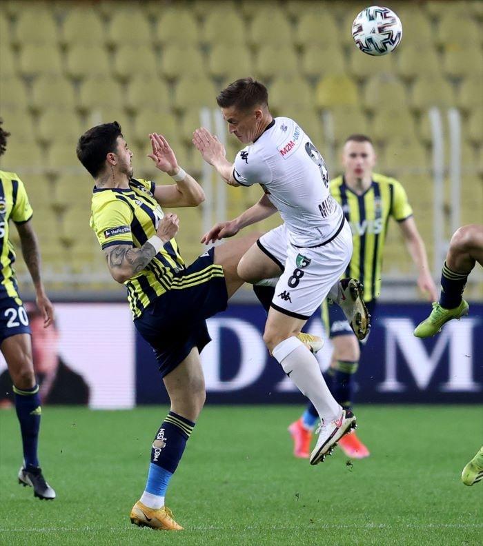 Fenerbahçe Denizlispor'u konuk ediyor