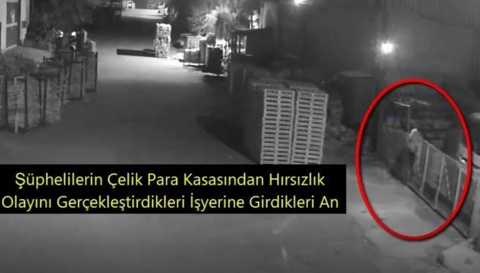Gaziantep'te işyerinden para çalan zanlılar yakalandı