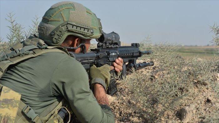 Irak'ın kuzeyinde 2 PKK'lı etkisiz hale getirildi