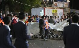 İsrail'de Lag BaOmer Bayramı kutlamalarında izdiham