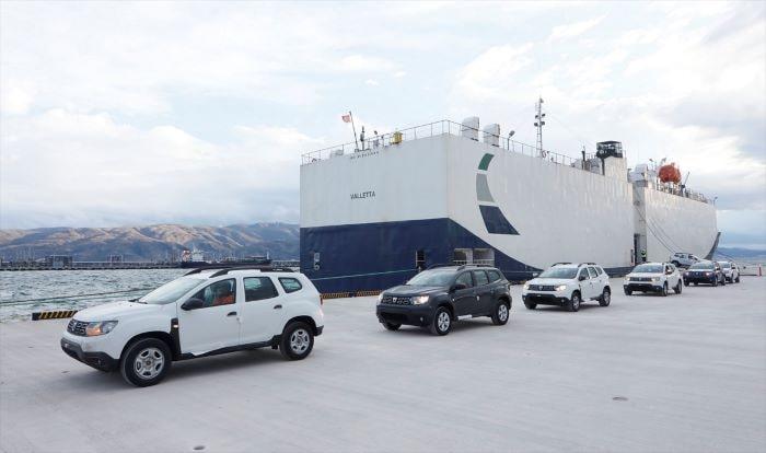 OYAK'ın Ro-Ro limanına ilk sefer gerçekleşti