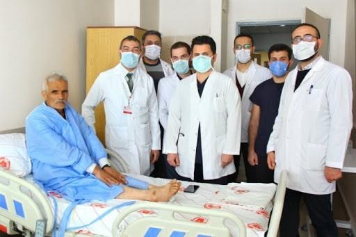 Sivas Cumhuriyet Üniversitesinde iki hastaya bağırsaktan mesane yapıldı