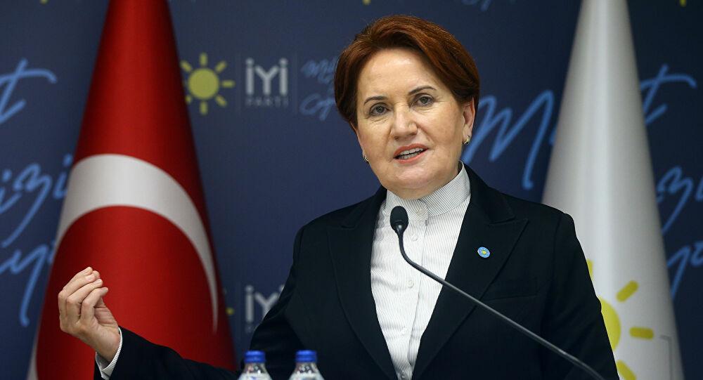 Akşener: Türk Milleti'nin onuruna saldırı