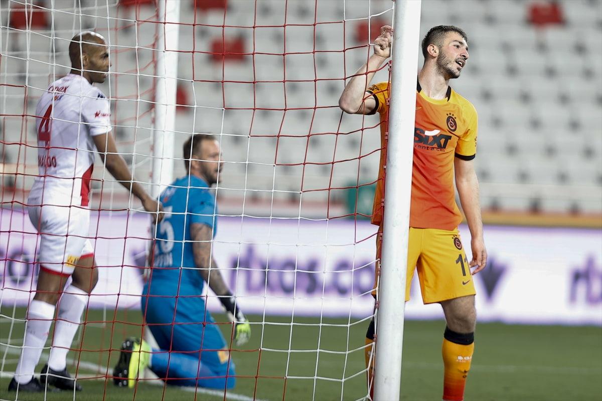 Galatasaray, Antalyaspor'u 1-0 mağlup etti