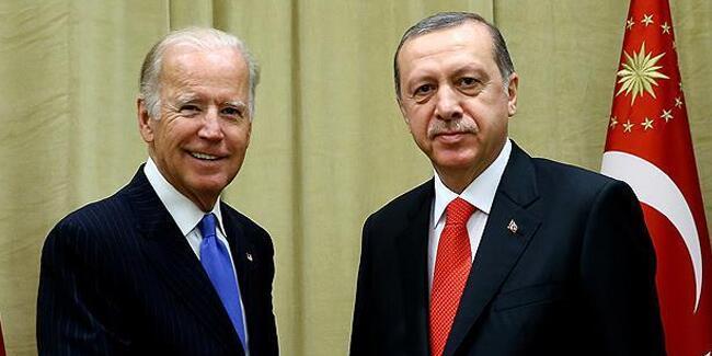 Erdoğan ile Biden telefonda görüştü