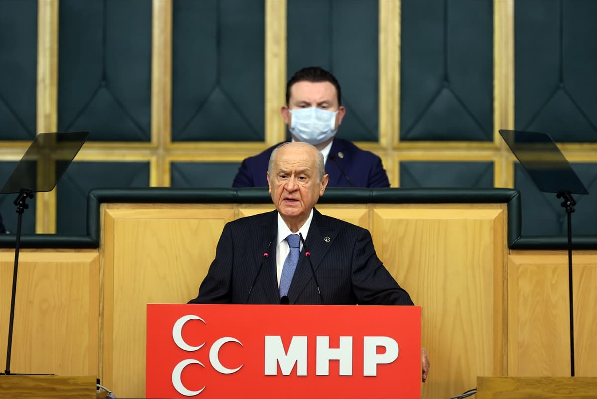 Bahçeli, MHP TBMM Grup Toplantısı'nda konuştu