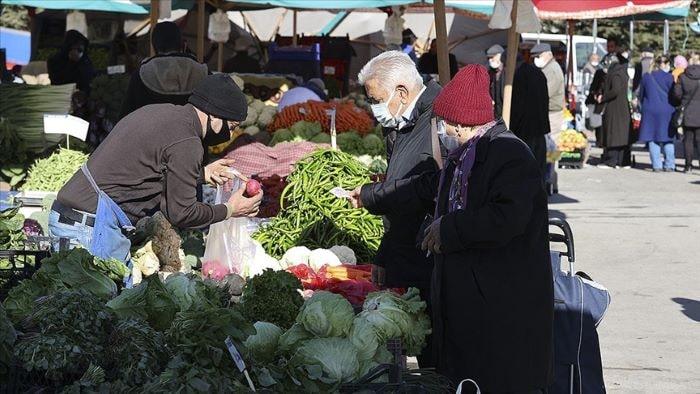 Yıllık enflasyon tüketici fiyatlarında yüzde 16,19