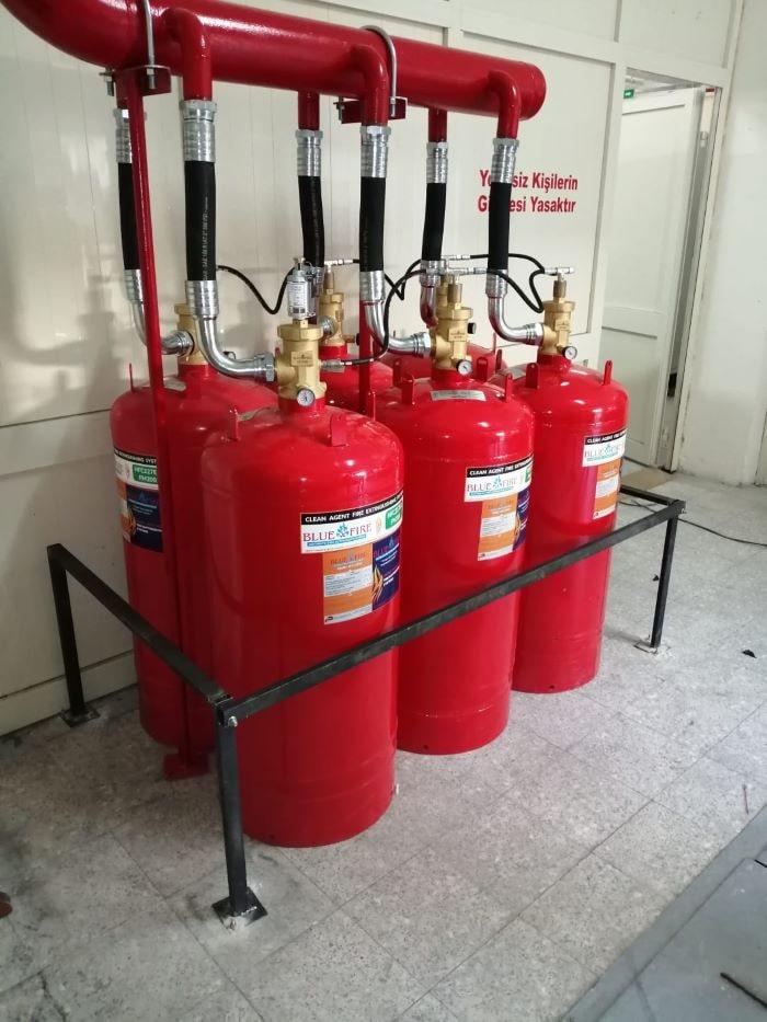 FM 200 Yangın söndürme sistemi