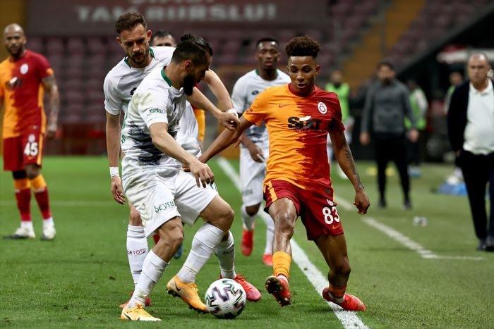 Galatasaray, Konyaspor'u 1-0 mağlup etti