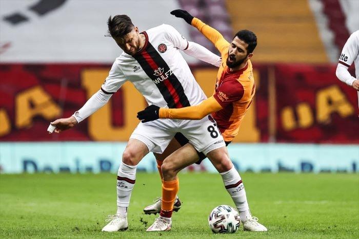 Galatasaray'ın galibiyet özlemi 3 maça çıktı