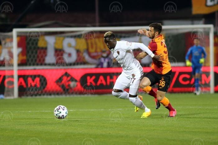 Galatasaray Hatay'da 3 puan bıraktı