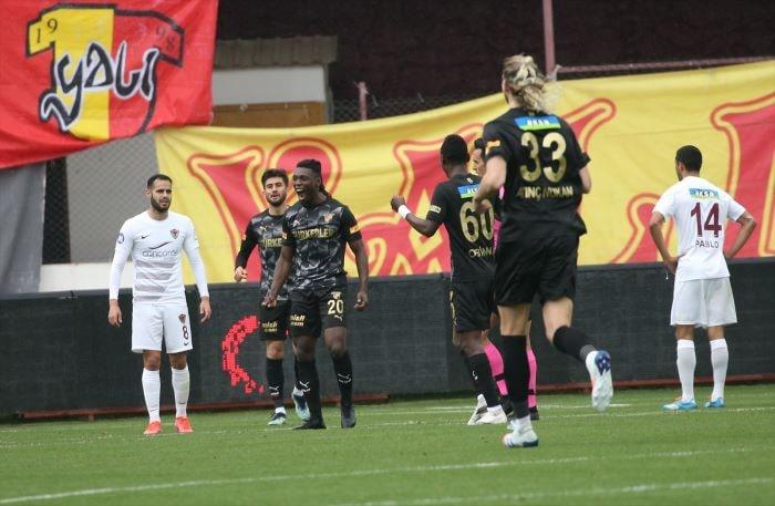Göztepe, Hatayspor'u 3-2 mağlup etti