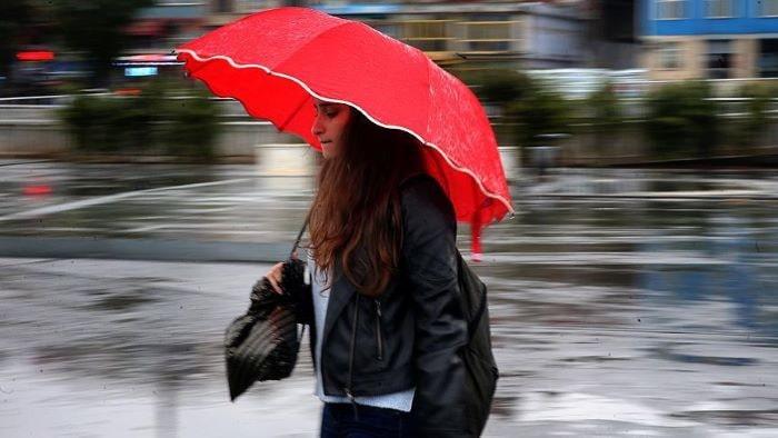 Meteoroloji sağanak yağışı için Uyardı