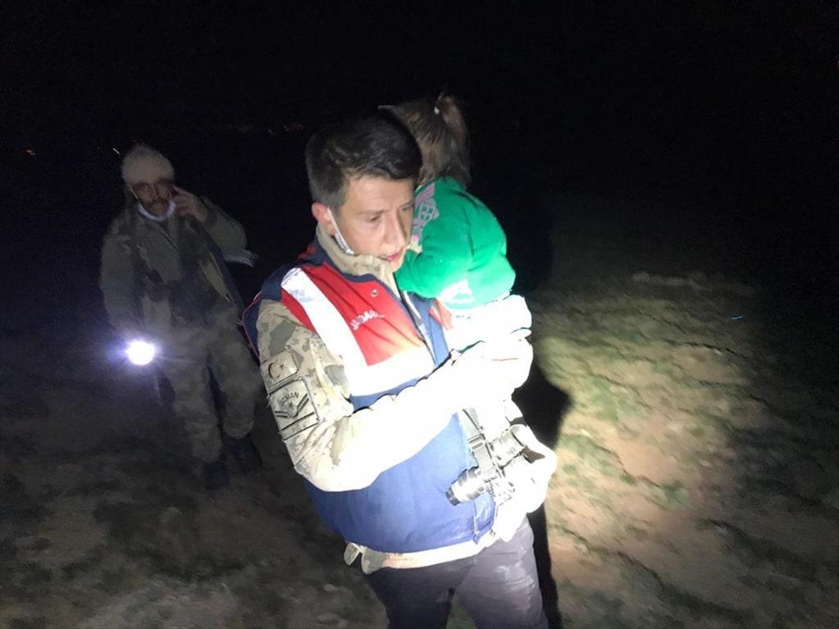 Van'da kaybolan 3 yaşındaki çocuk bulundu