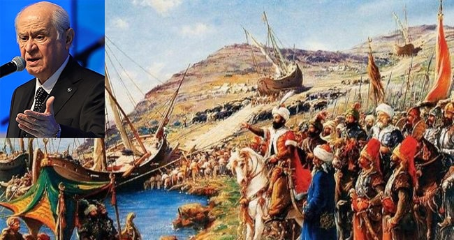 Bahçeli'den, İstanbul'un fethinin 568. yıl dönümü açıklaması