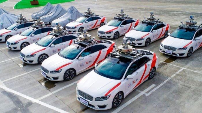 """Çinli Baidu, ülkede sürücüsüz """"Robotaxi"""" hizmetini başlattı"""