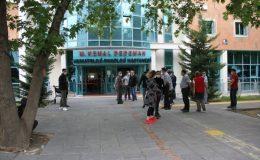 Erciyes Üniversitesi'nde yangın çıktı