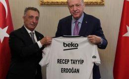 Erdoğan Şampiyon Beşiktaş'ı kabul etti