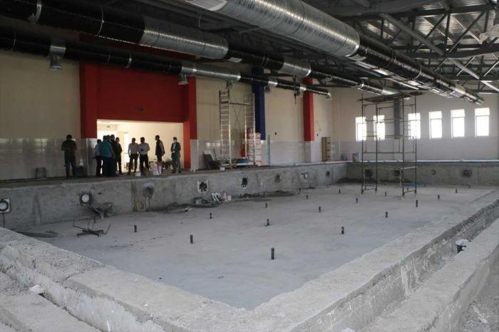 Erzurum'a olimpik yüzme havuzu