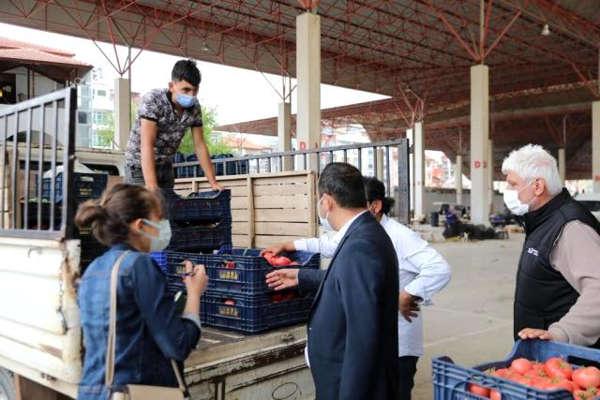 Mardin Büyükşehir Belediyesi'nden esnafa destek