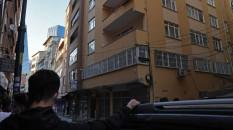 Şişli'de 6 katlı bir bina çökme tehlikesine karşı boşaltılıyor