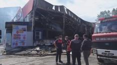 Zonguldaki Bizim toptan markette yangın çıktı