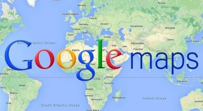 Google'dan Filistin'e harita karartması