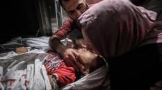 Bebek Katili İsrail'den Gazze'ye hava saldırısı