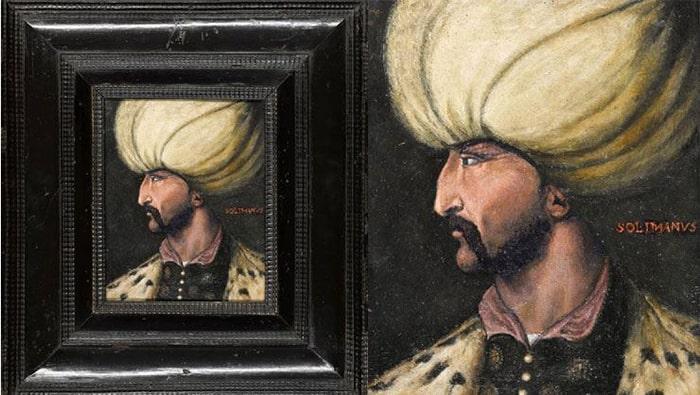 Kanuni portresi İBB'ye bağışlandı