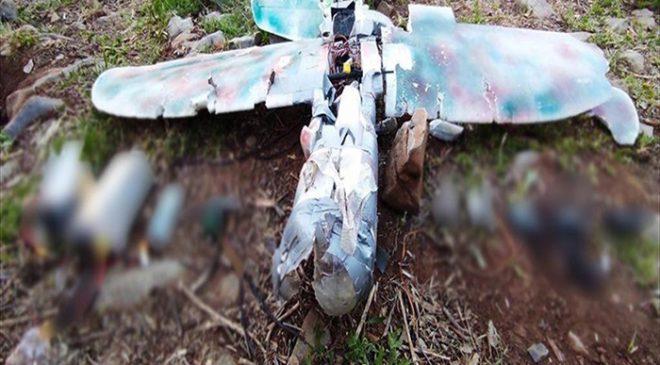 PKK'dan maket uçakla saldırı girişimi
