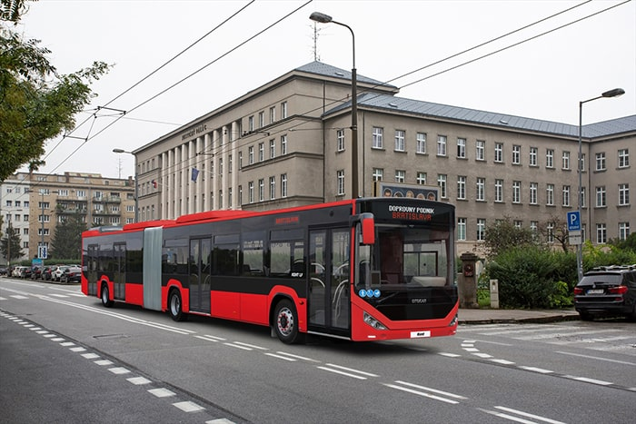 Otokar'ın otobüsleri Slovakya'da